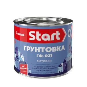 ГРУНТОВКА ПО ДЕРЕВУ И МЕТАЛЛУ ГФ-021 «START»