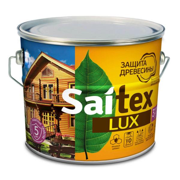 Состав для защиты и декора древесины «SAITEX» LUX